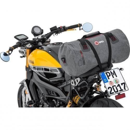 Pozostałe akcesoria do motocykli, Q-bag torba motocyklowa rolka szara 35 l