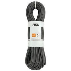Petzl Volta Rope 9,2mm x 60m, szary 2021 Liny połówkowe
