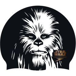 speedo Star Wars Slogan Print Czapka, black/white/copper 2019 Czepki pływackie Przy złożeniu zamówienia do godziny 16 ( od Pon. do Pt., wszystkie metody płatności z wyjątkiem przelewu bankowego), wysyłka odbędzie się tego samego dnia.