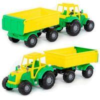 Jeżdżące dla dzieci, Pojazd majster traktor z przyczepą