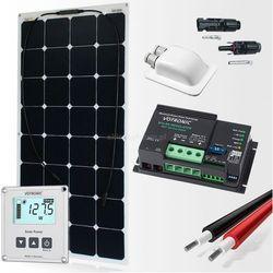 Zestaw zasilania solarnego do Kampera 110W - Premium