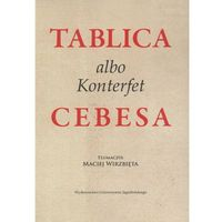 Filozofia, Tablica albo Konterfekt Cebesa (opr. miękka)