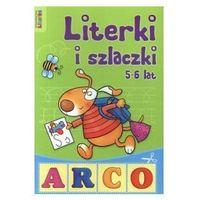 Książki dla dzieci, Literki i szlaczki 5-6 lat (opr. miękka)