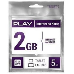 Starter PLAY Internet na Kartę 2GB 5PLN