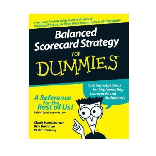 Biblioteka biznesu, Balanced Scorecard Strategy For Dummies (opr. miękka)