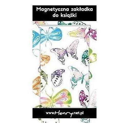 Pozostałe artykuły szkolne, Zakładka magnetyczna - Motyle