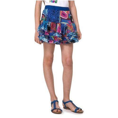 Spódniczki dziecięce, Desigual spódnica dziewczęca Antius 152 niebieski