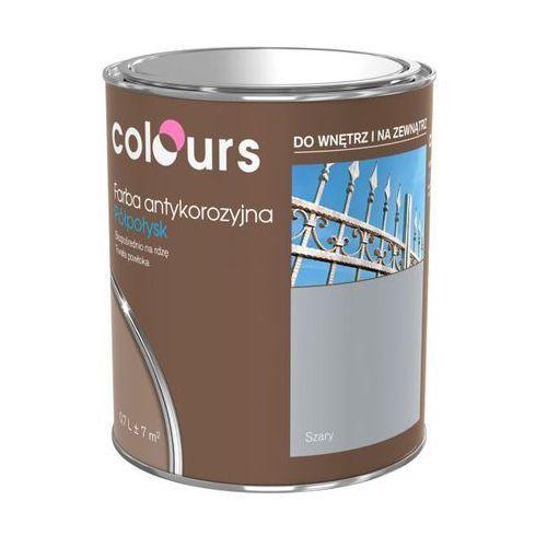 Farby, Farba antykorozyjna Colours srebrna 0,7 l