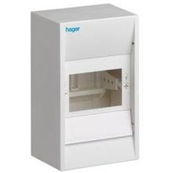 Hager Enclosure ip30 4m 1 row