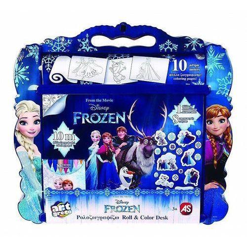 Kreatywne dla dzieci, Rolka do malowania z akcesoriami Frozen