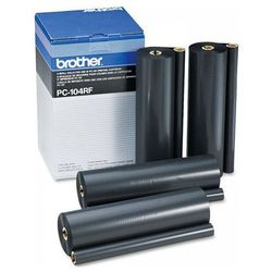 Wyprzedaż Oryginał Folia do faksu Brother PC-104RF do IntelliFAX 1150/1250/1350/1550mc, MFC-1450/1550/1750/1850/1950, 4*750 stron