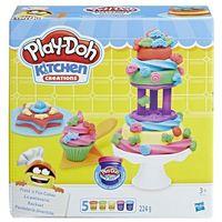 Kreatywne dla dzieci, PlayDoh Lukrowane ciasteczka - Hasbro