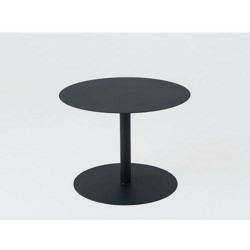 Stoliki i ławy, Stół kawowy Customform OSCAR METAL 60- czarny