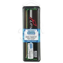 GOODRAM DDR3 PLAY 16GB PC1600 2x8GB BLACK CL10