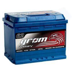 Akumulator GROM Prestige 62Ah 600A EN PRAWY PLUS