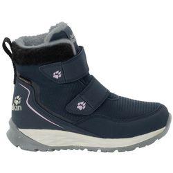 Buty dla dzieci zimowe POLAR WOLF TEXAPORE MID VC K dark blue / off-white - 35