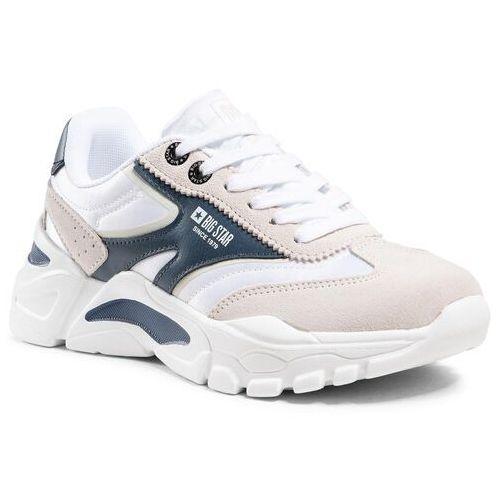 Damskie obuwie sportowe, Sneakersy BIG STAR - HH274335 White