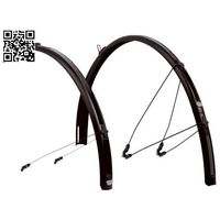 Błotniki rowerowe, Zéfal Paragon C50 - zestaw błotników 52 mm