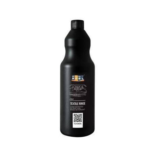 Środki do czyszczenia tapicerki samochodowe, ADBL Textile Rinse 1l antypienny preparat poprawiający wypłukiwanie zabrudzeń