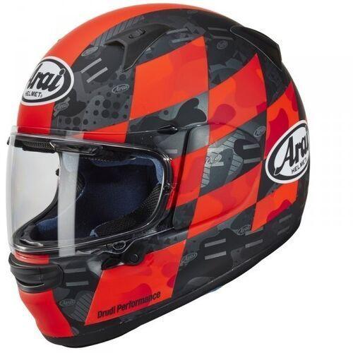 Kaski motocyklowe, Arai kask integralny profile-v patch red