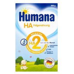 HUMANA 500g HA 2 Hipoalergiczne mleko następne po 6 miesiącu