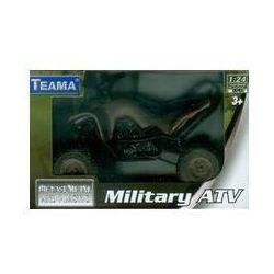 Teama Military ATV Quad 1:24. Darmowy odbiór w niemal 100 księgarniach!