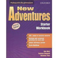 Książki dla dzieci, New Adventures Starter Workbook (opr. broszurowa)