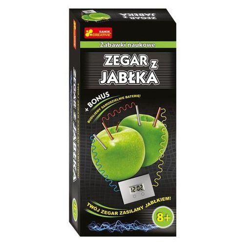 Kreatywne dla dzieci, Zegar z jabłka