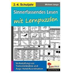 Sinnerfassendes Lesen mit Lernpuzzlen Junga, Michael