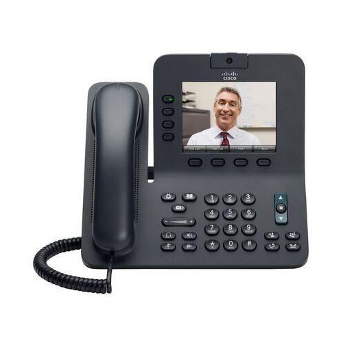 Telefony i akcesoria VoIP, CP-8941-K9 Telefon Cisco UC Phone 8941, Phantom Grey, Standard Handset