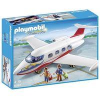 Klocki dla dzieci, Playmobil, Samolot wakacyjny, 6081
