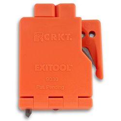 Nóż do cięcia pasów CRKT ExiTool 9030S (pomarańczo