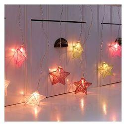 Z kolorowymi gwiazdami – zasłona LED Isabella