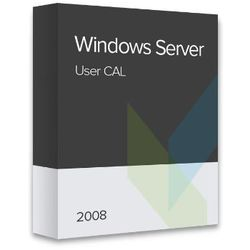 Windows Server 2008 User CAL elektroniczny certyfikat