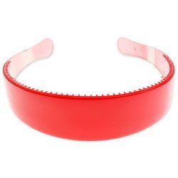 CZERWONA OPASKA PLASTIKOWA emo kolor czerwony opaski styl sportowy
