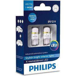 Żarówka LED Philips® T10 W5W X-treme Ultinon 4000 K