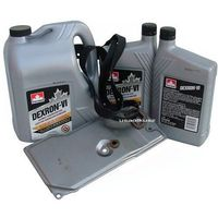 Oleje przekładniowe, Filtr oraz olej Dextron-VI automatycznej skrzyni biegów AW4 Jeep Cherokee -2001