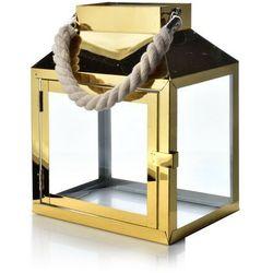 LEONARDO GOLD LATARNIA 20x13.5xh24.5 cm