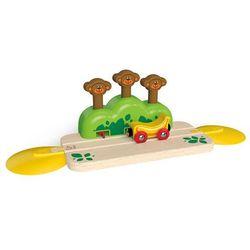 TRAIN Tor z wyskakującymi małpkami