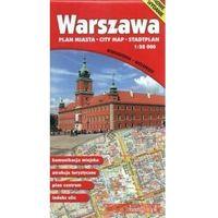 Mapy i atlasy turystyczne, Warszawa Plan Miasta 1:28 000 Mapa Wodoodporna - Praca zbiorowa (opr. miękka)
