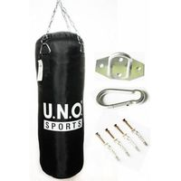 Gruszki i worki treningowe, Worek bokserski UNO 80cm / 30 / 18kg + MOCOWANIE