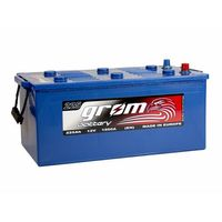 Akumulatory samochodowe, Akumulator GROM Prestige 225Ah 1500A EN LEWY PLUS