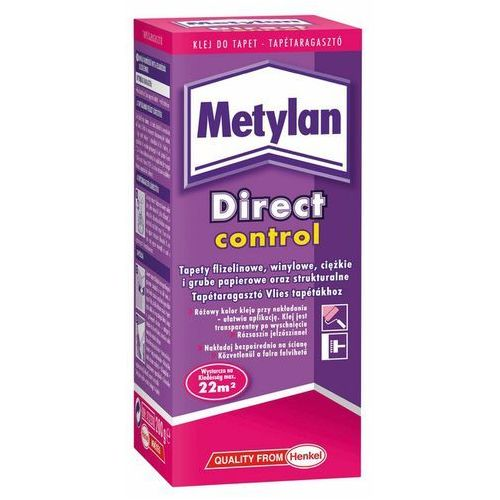 Kleje do tapet, Klej do tapet Metylan Direct Control 200 g
