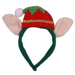 Opaska Elfa z uszami ozdoby i dekoracje świąteczne