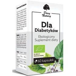 Dla Diabetyków 60kaps. Ekologiczny Suplement diety DARY NATURY