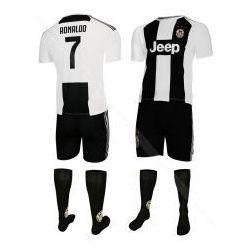 RONALDO - JUVENTUS TURYN - komplet piłkarski - koszulka, spodenki + skarpety BS SPORT