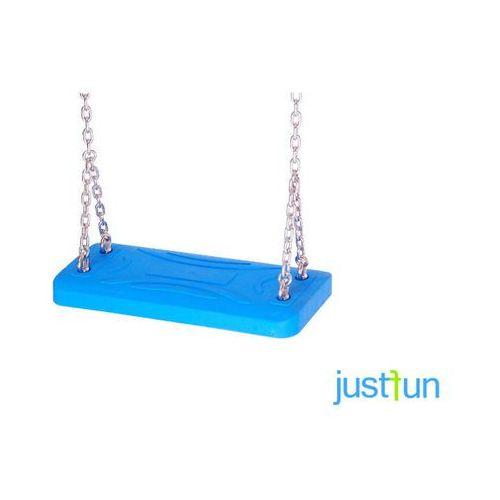Huśtawki ogrodowe dla dzieci, Huśtawka LUX + komplet łańcuchów ocynkowanych 5mm - 1,8 m