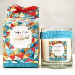 Song of India sojowa świeca zapachowa w szklanym słoju Honeysuckle 200g