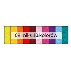 Filc dekoracyjny zestaw 10 kolorów 1,5mm