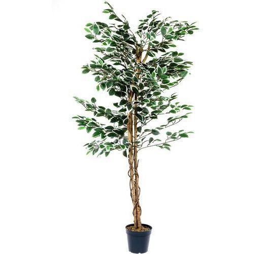 Sztuczne kwiaty, Drzewko sztuczne dekoracyjne Fikus 160 cm